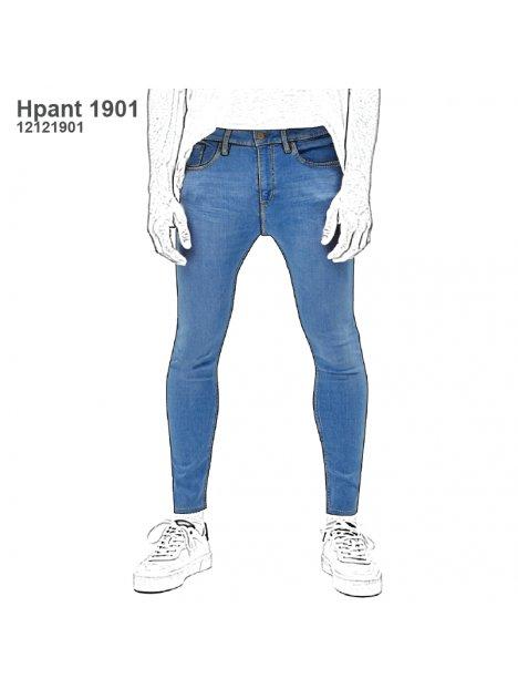 Molde Pantalon Jean Hombre 1901