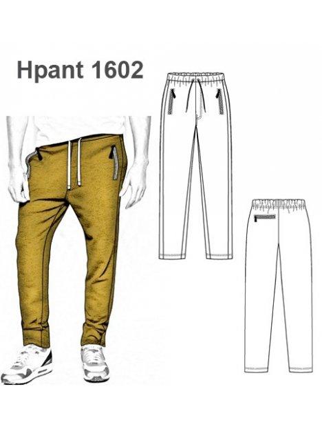 Molde Pantalon Buzo Urbano Hombre 1602