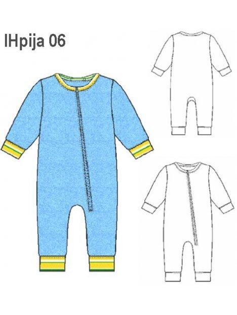 PIJAMA ENTERITO NIÑO 0906