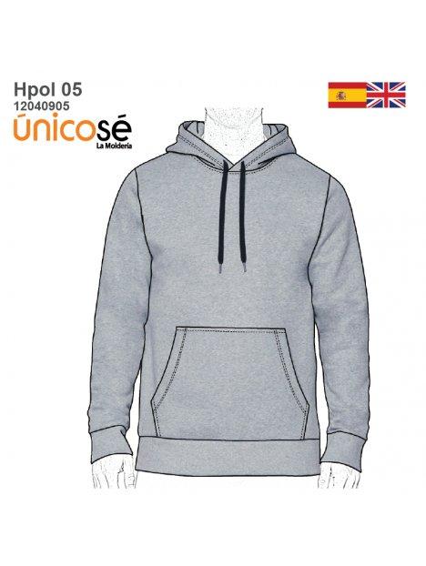 POLERON CANGURO HOMBRE 0905