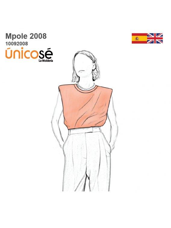 POLERA HOMBRERAS MUJER 2008