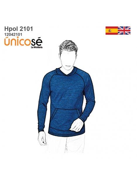 POLERON BASICO HOMBRE 2101