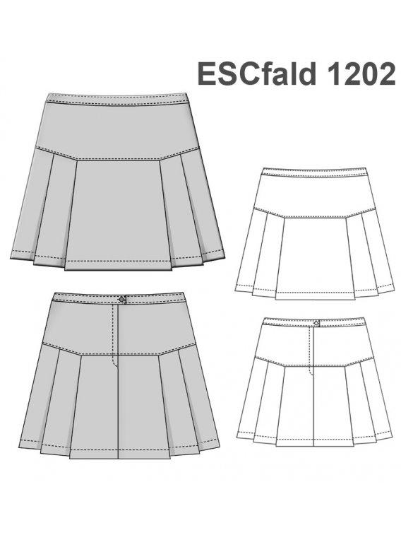 FALDA TABLAS ESCOLAR 1202