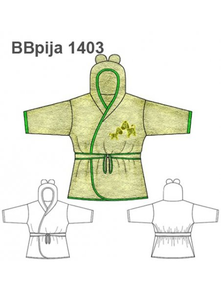 PIJAMA BATA BEBE 1403
