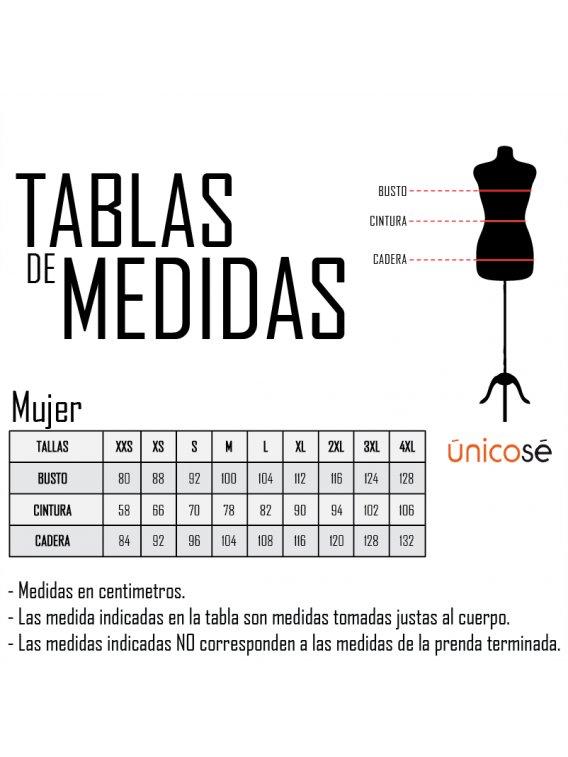 TABLA MEDIDAS MUJER