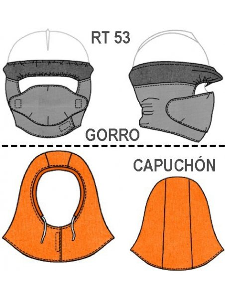 GORRO Y CAPUCHON MINERIA RT  0953