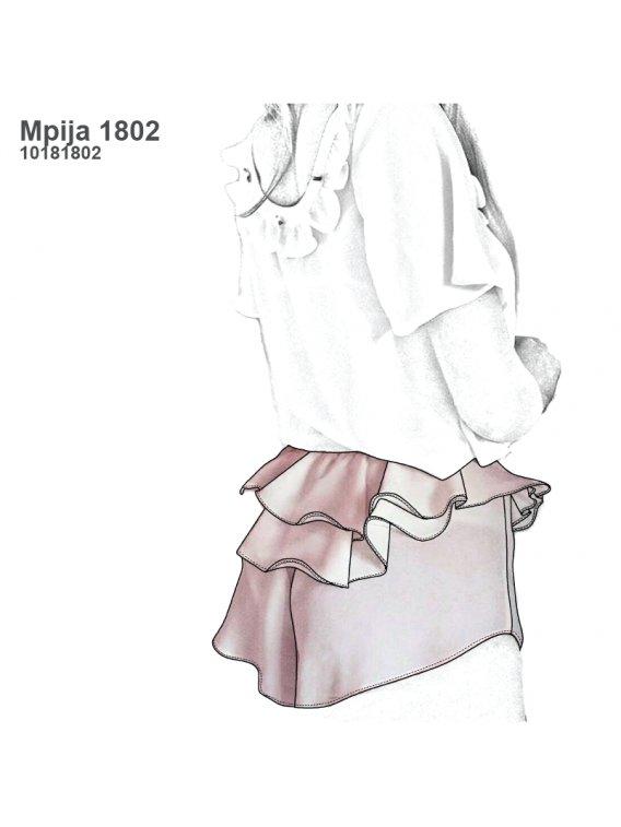 PIJAMA SHORT MUJER 1802