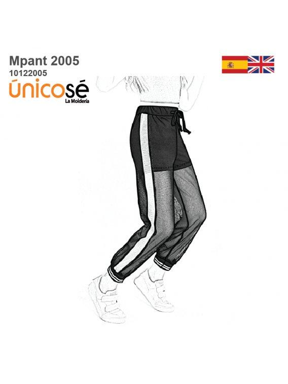 Molde Pantalon Jogger Mujer 2005