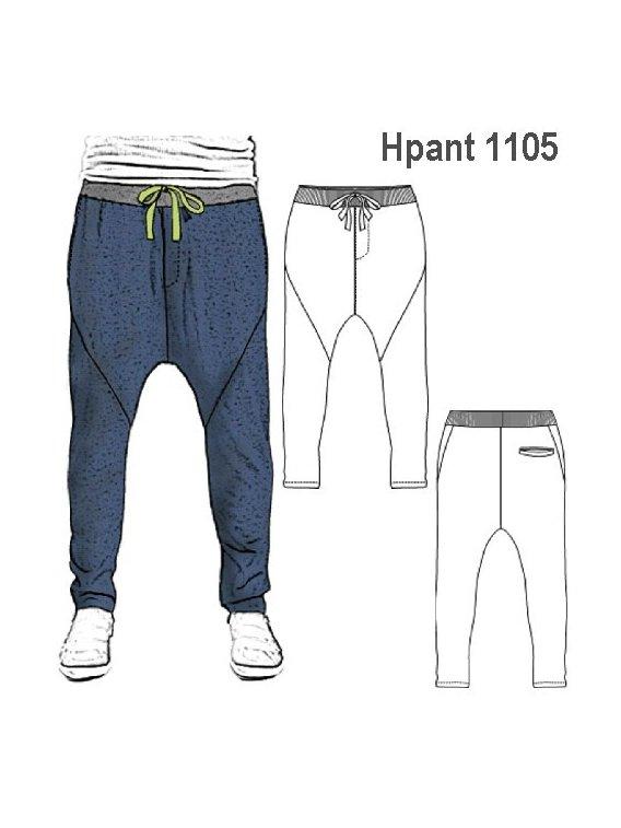 Molde Pantalon Harem Hombre 1105